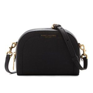 Marc Jacobs Leather Playback Signature Crossbody